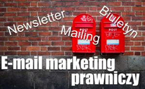 Email marketing prawniczy